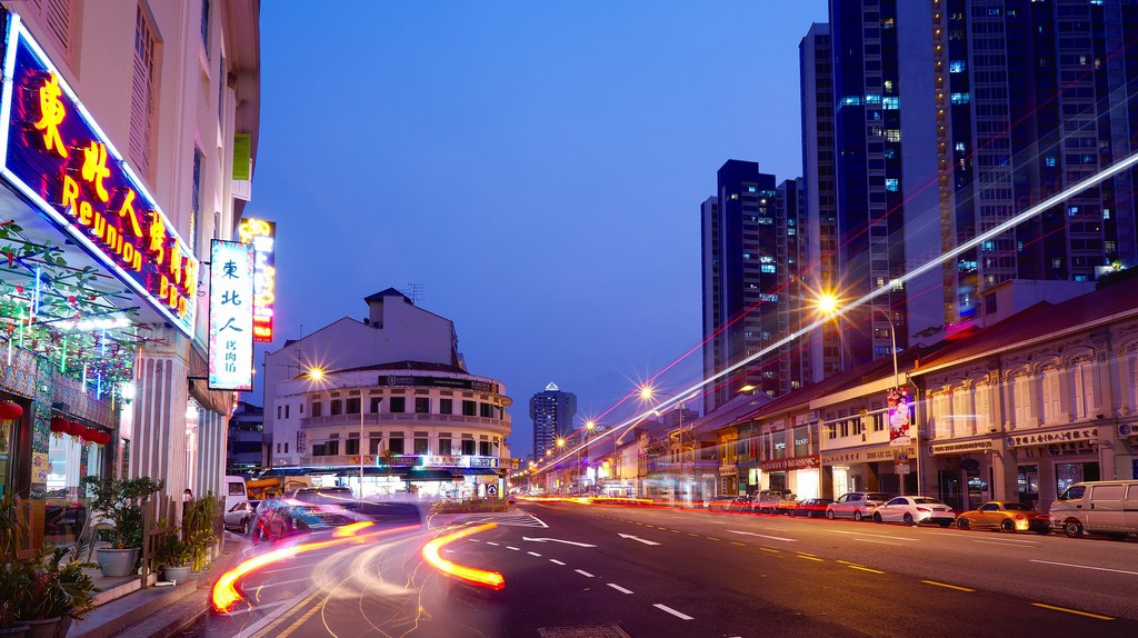 Evening in Jalan Besar