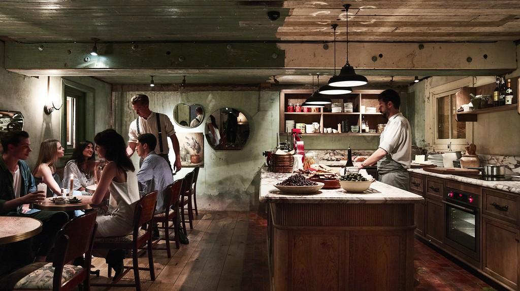 Charlie Parker's open kitchen