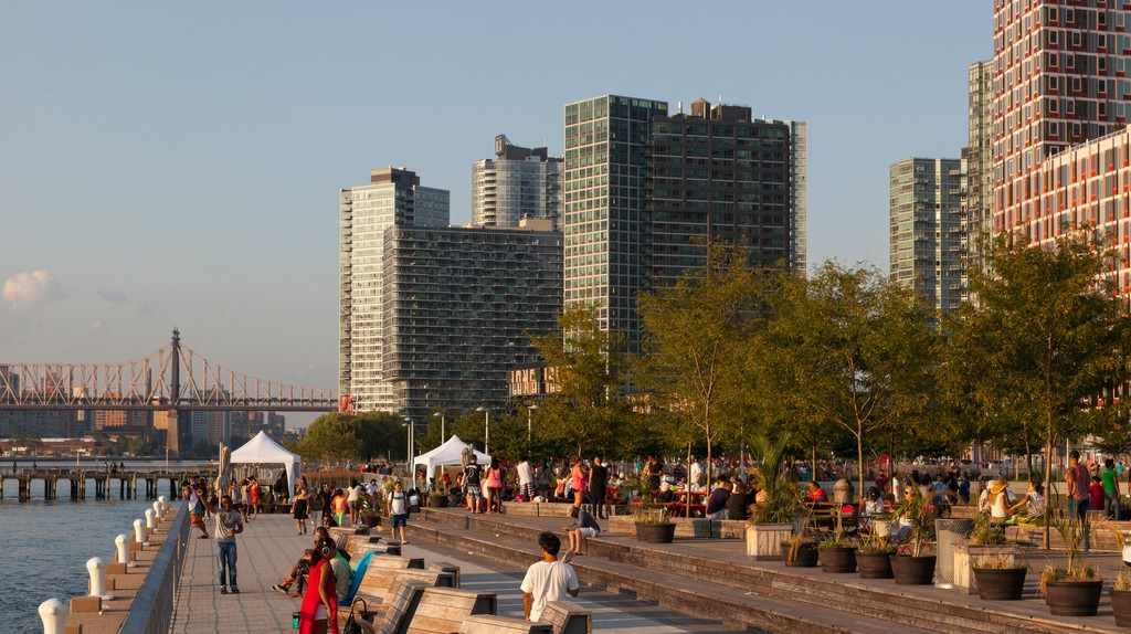 Long Island City is one of New York's up-and-coming neighborhoods