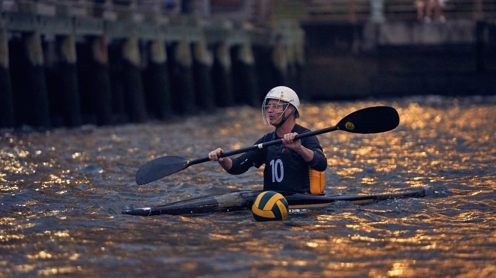 The New York Kayak Polo club has nearly 400 members on Meetup