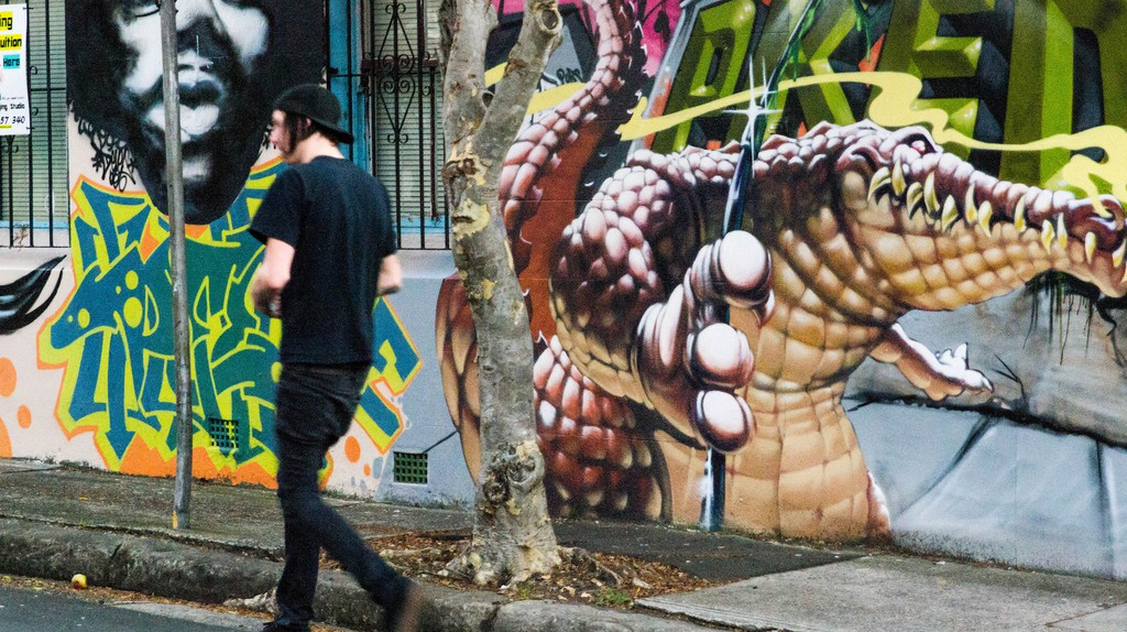 Street art in Newtown