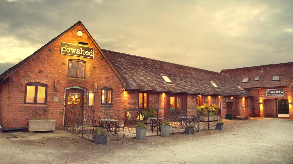 The Cowshed is a former dairy-turned-restaurant