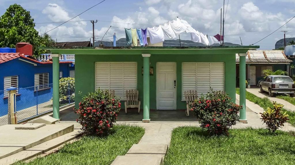 A typical home in Viñales, Cuba