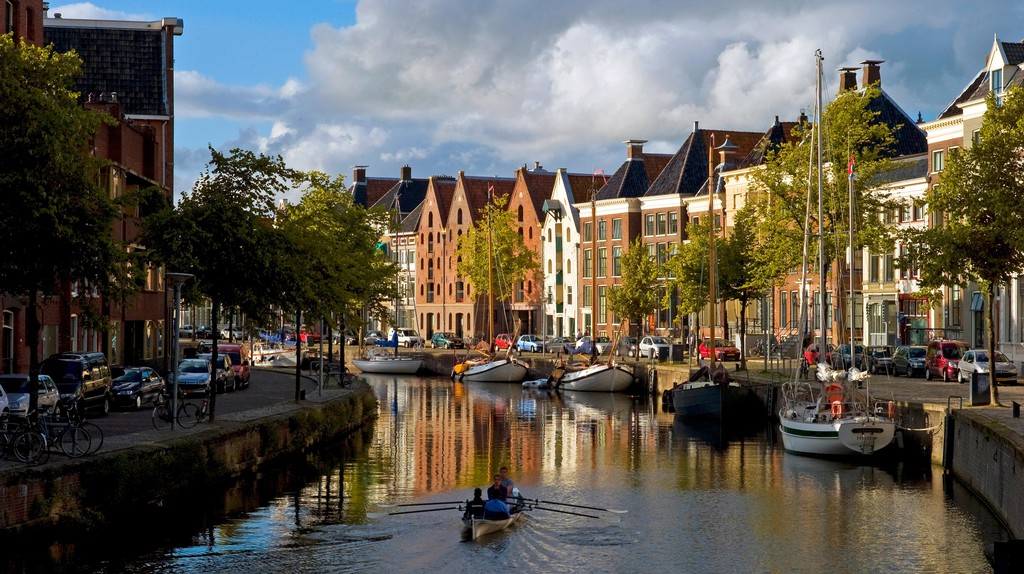 Groningen is known for architecture, canals and students