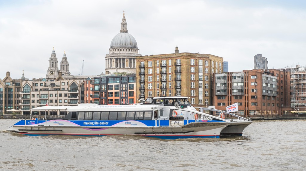 Thames Clippers is London's river bus service