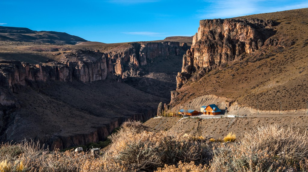 Pinturas River Canyon and the Cave of the Hands, Argentina