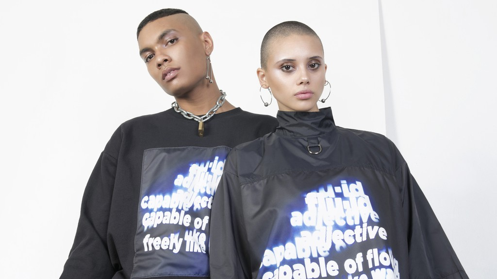 Models for the WE ARE MORTALS 'Collection No. 2' lookbook