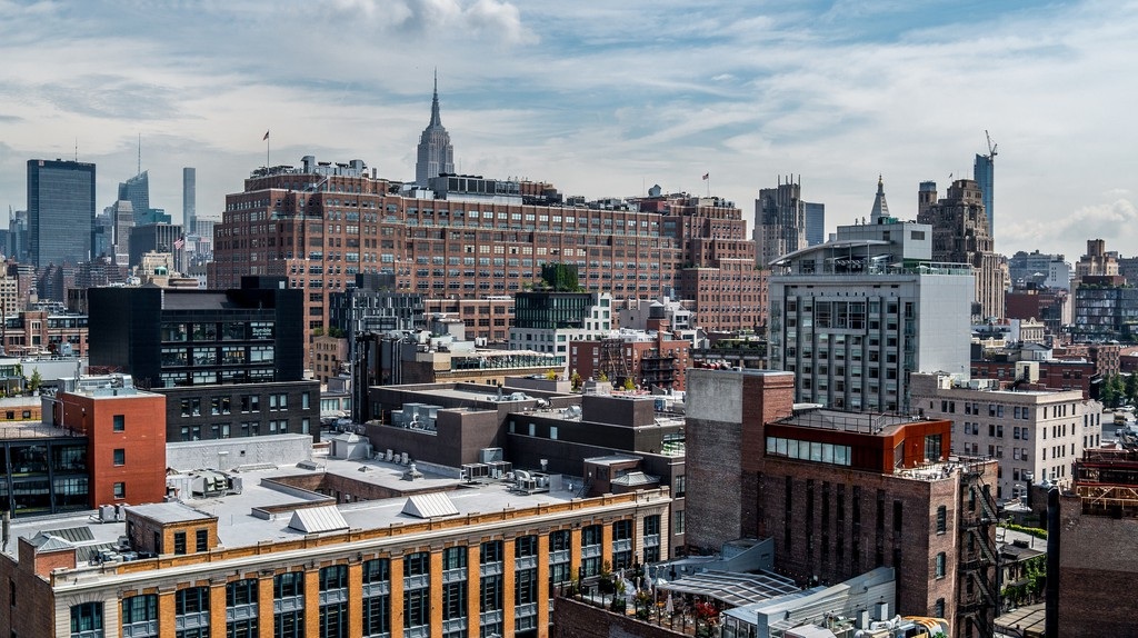 Balcony view of the Meatpacking District, NYC