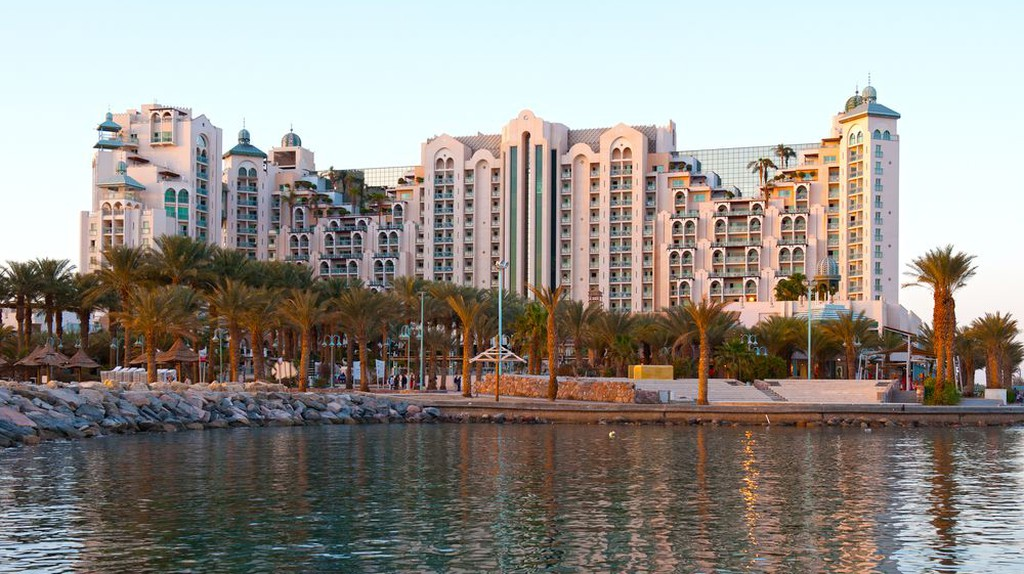 Many of Eilat's best hotels are grouped in the city's marina