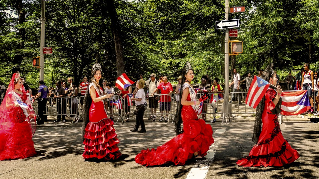 New York City's National Puerto Rican Day Parade takes place in June every year