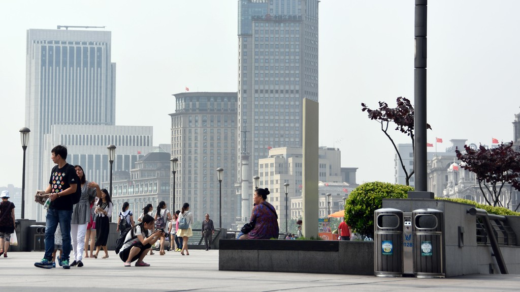 Pudong City Skyline from the Bund