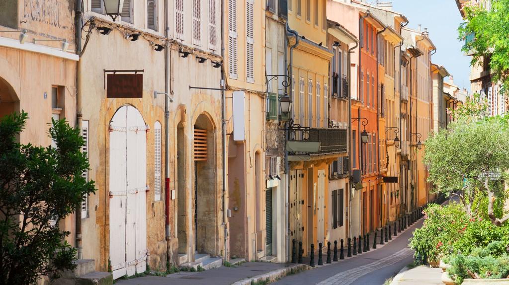 Old Town, Aix-en-Provence, France