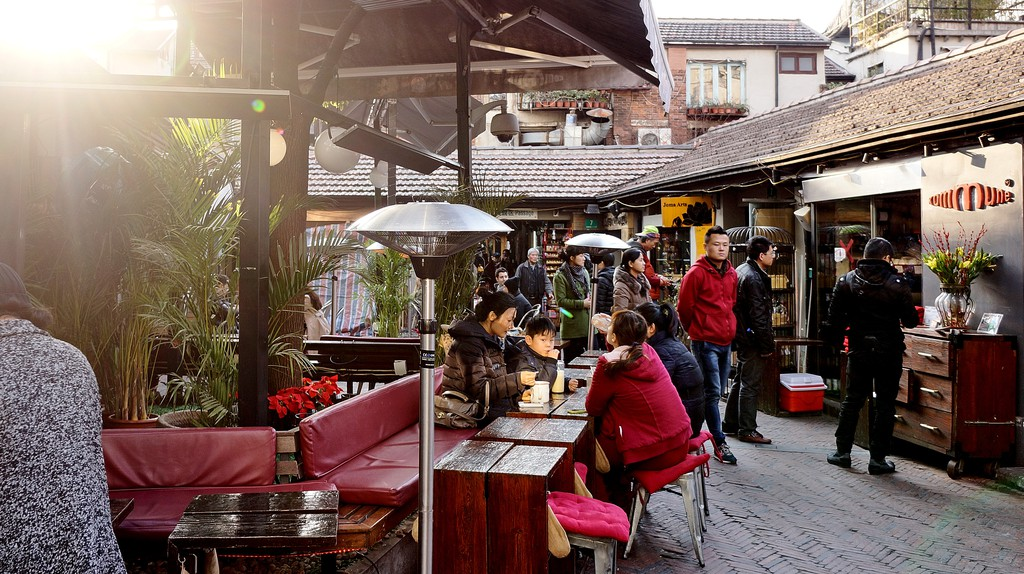 Tianzifang is an arts and crafts enclave that has developed from a renovated traditional residential area