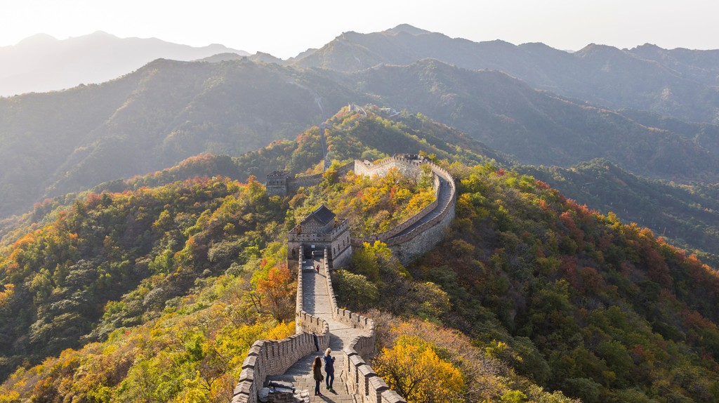 The Great Wall, near Beijing in Hebei Province, China