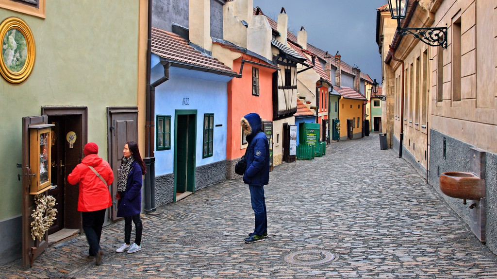 Explore Golden Lane, inside the grounds of Prague Castle – it's full of history, magic and a few myths.