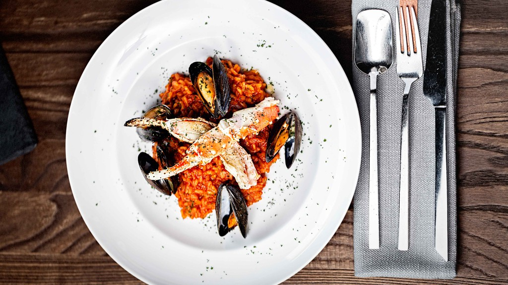 From the sea straight to your table at Glass Restaurant