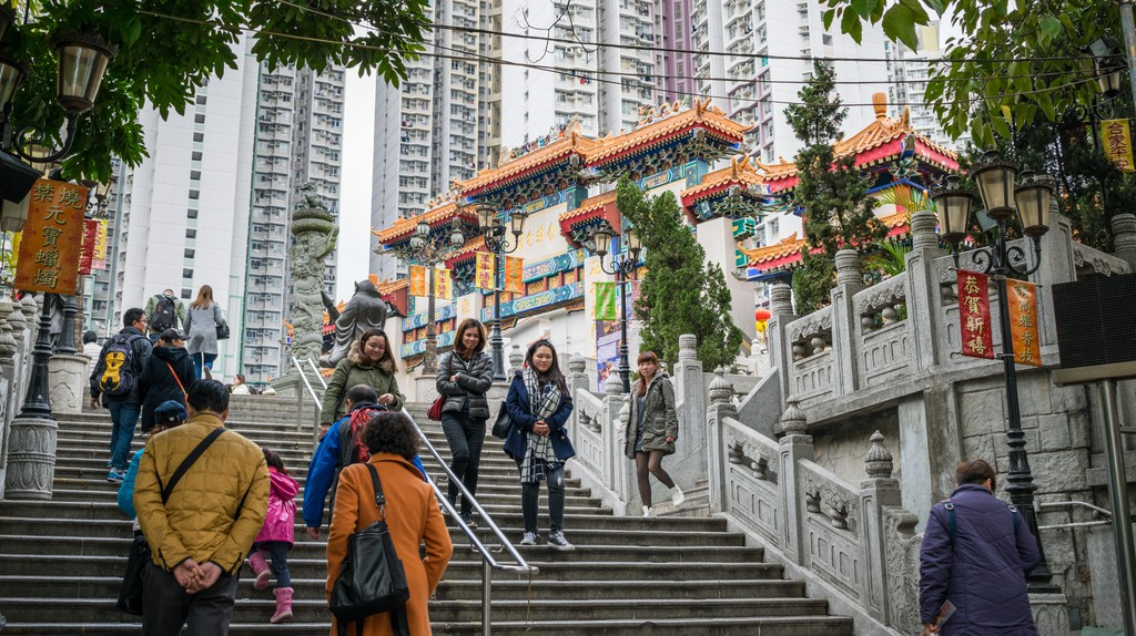 Take a trip to Wong Tai Sin Temple for a strike of good luck