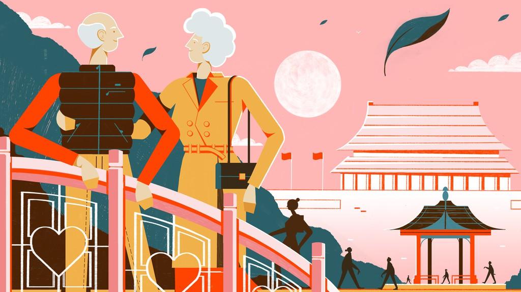 Beijing's Changpuhe Park: Where Elderly Singles Mingle