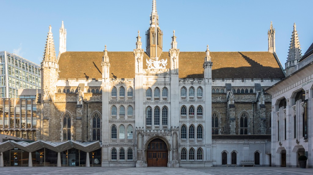 Guildhall in London.