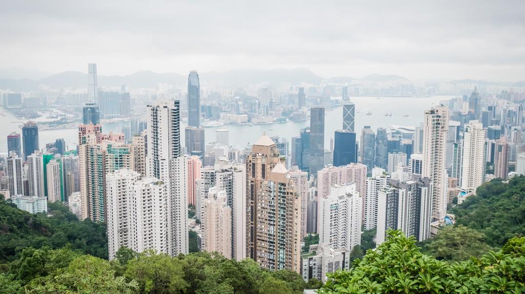 Visit Victoria Peak for incredible panoramas of Hong Kong