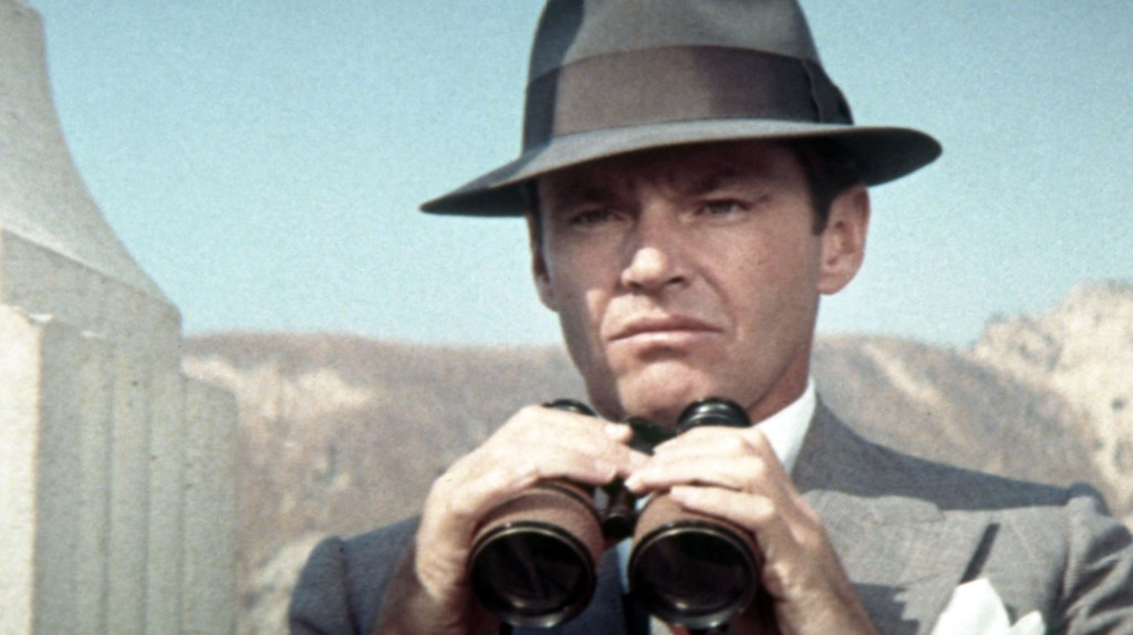 Jack Nicholson plays a private eye in 'Chinatown'