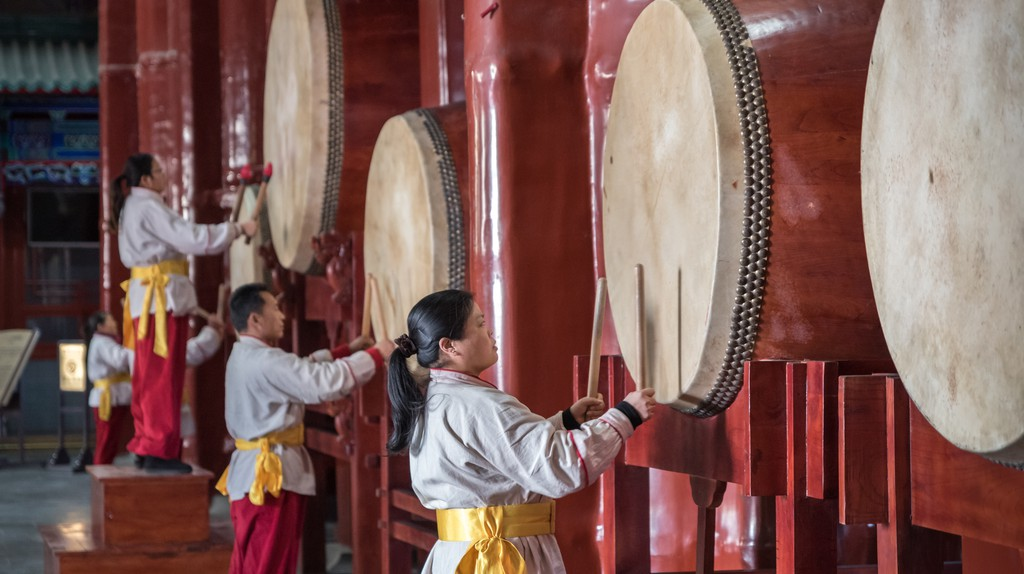 Watch a performance at the Drum Tower on your visit to Beijing