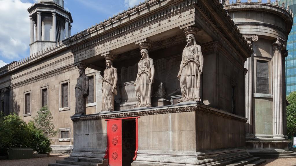 Visit The Crypt Gallery beneath St Pancras Church
