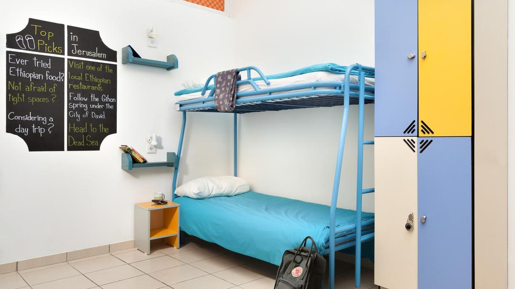 Abraham Hostel boasts more than 250 beds