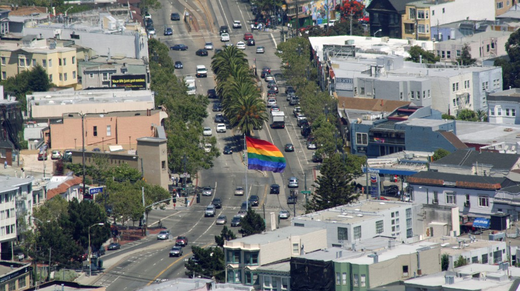 It's impossible to confuse the Castro with any other part of San Francisco