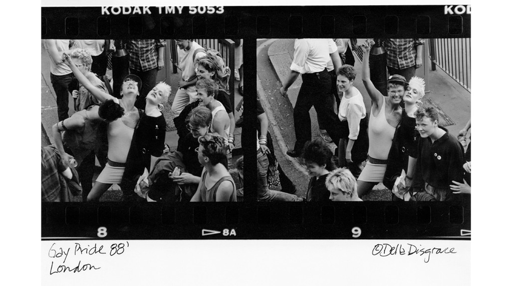 The Lesbian Herstory Archives contains photography by artists such as Del LaGrace Volcano