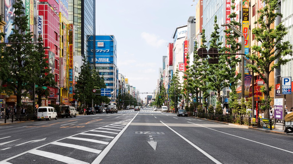 Akihabara is Tokyo's vibrant district brimming with electronics shops