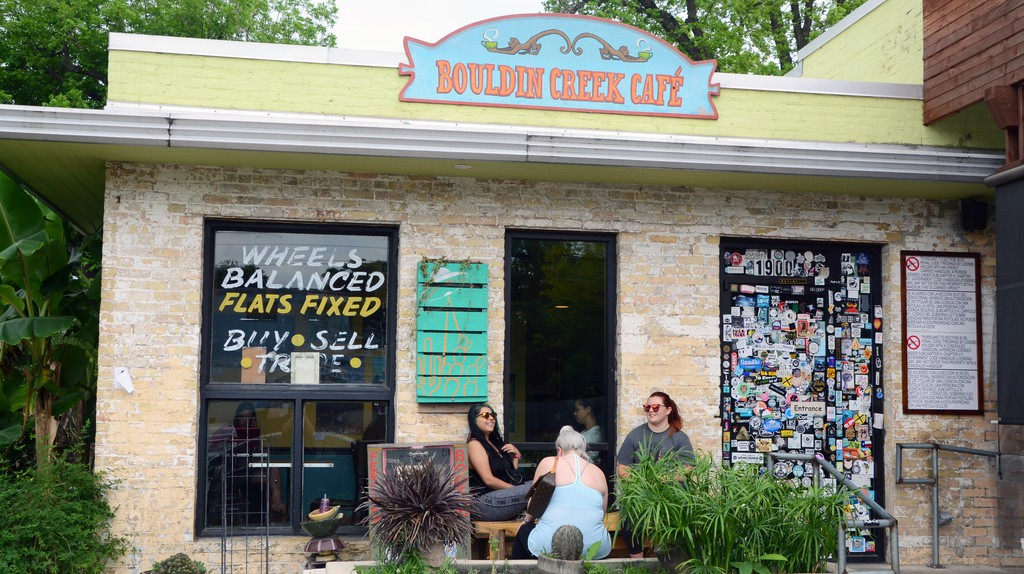 Bouldin Creek Café is a favorite brunch spot