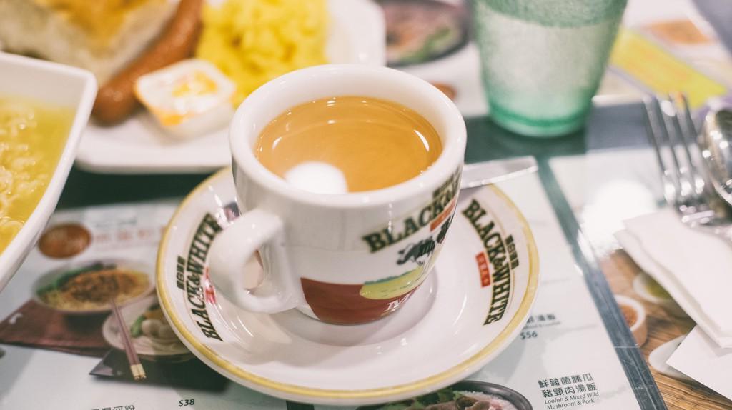 Breakfast food in Hong Kong cha chaan teng