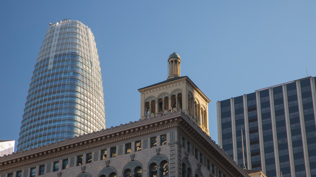 The Salesforce Tower in San Francisco