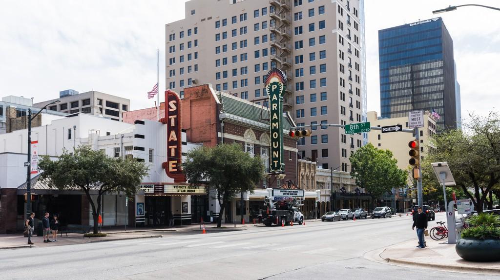 Downtown Austin, Texas, USA.