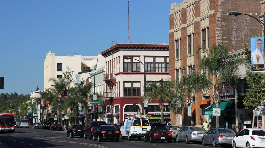 Old Town Pasadena, California