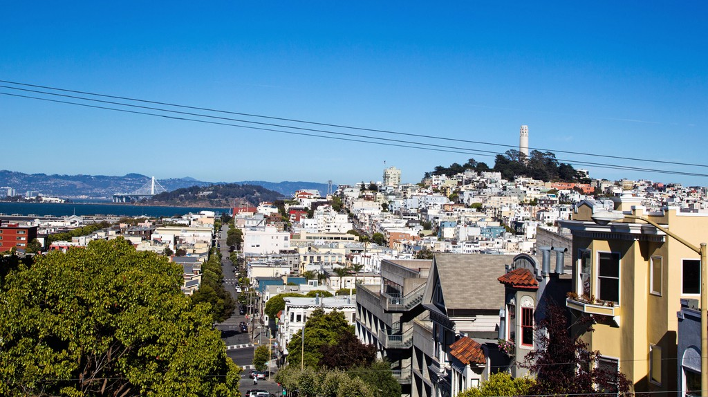 San Francisco is simply breathtaking on a sunny day