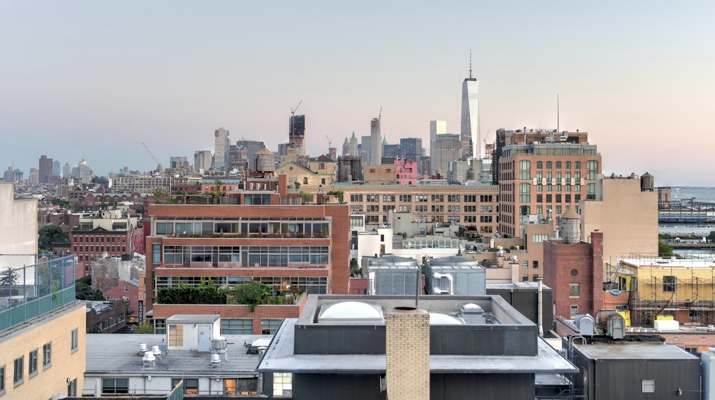 View across Manhattan Meatpacking District, New York City