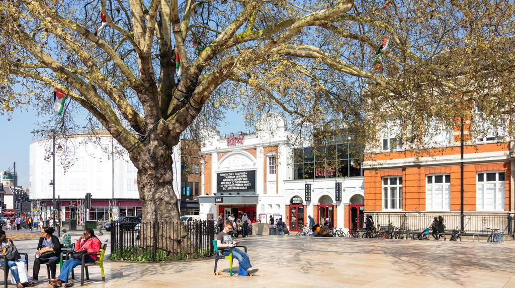Brixton Oval, Brixton, London.
