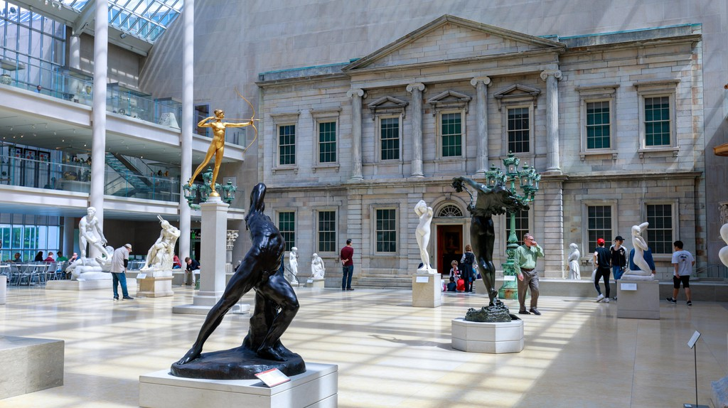 The Metropolitan Museum of Art located in New York City