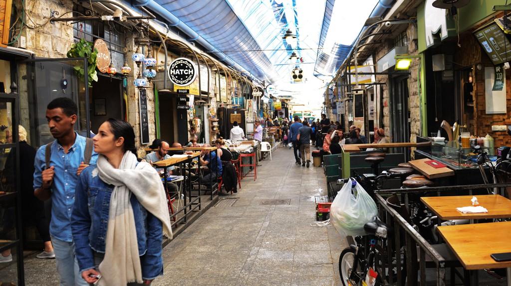 Bars and restaurants dominate Jerusalem's Machane Yehuda Market