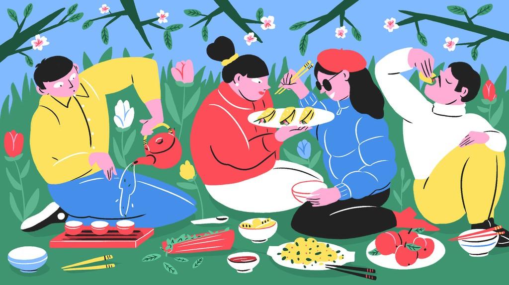 Món ăn ngày xuân Trung Quốc