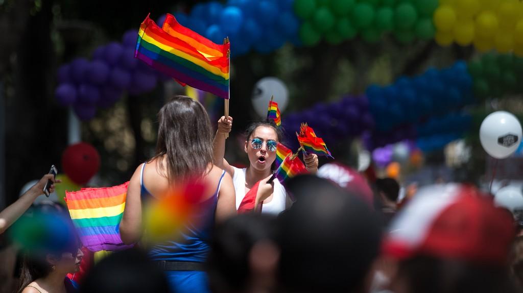 Tel Aviv Pride celebrates the country's LGBTQ community