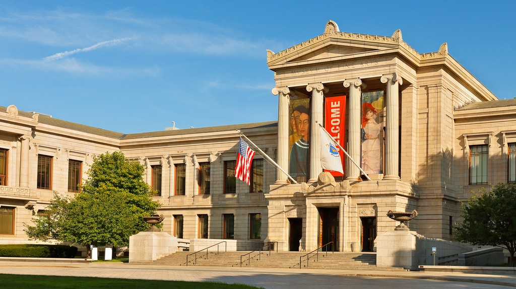 The Museum of Fine Arts in Boston is the fourth-largest museum in the United States