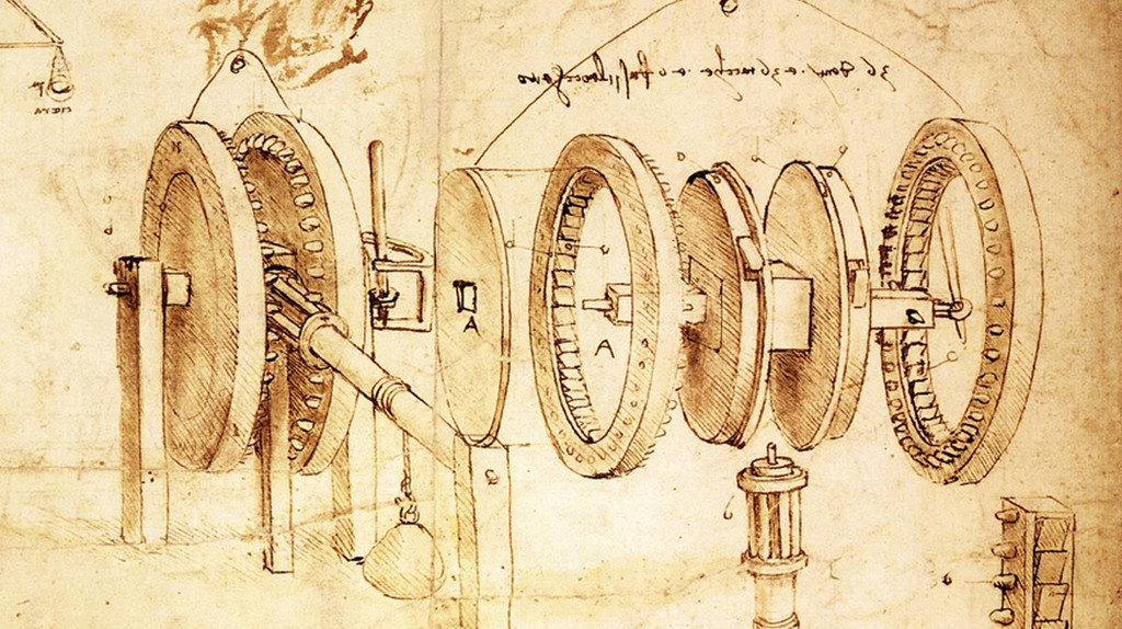 Many inventions have come out of Italy, including those by Leonardo da Vinci