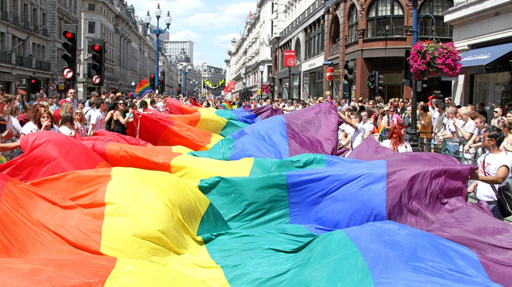 Pride in London is the  capital's biggest LGBT celebration