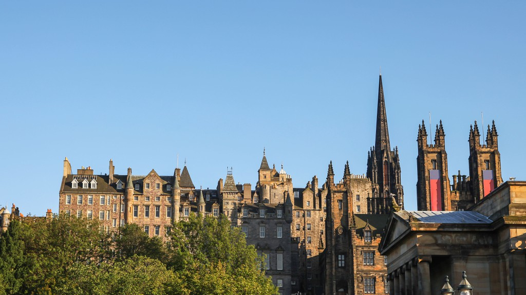 Edinburgh has bed and breakfasts at every price point