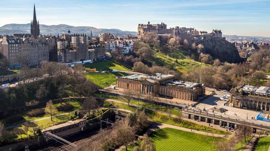 Edinburgh is an exciting place to explore