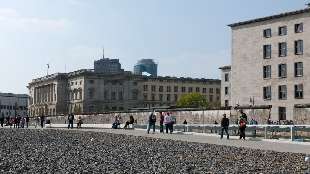 The Topography of Terror occupies the site of the former SS headquarters