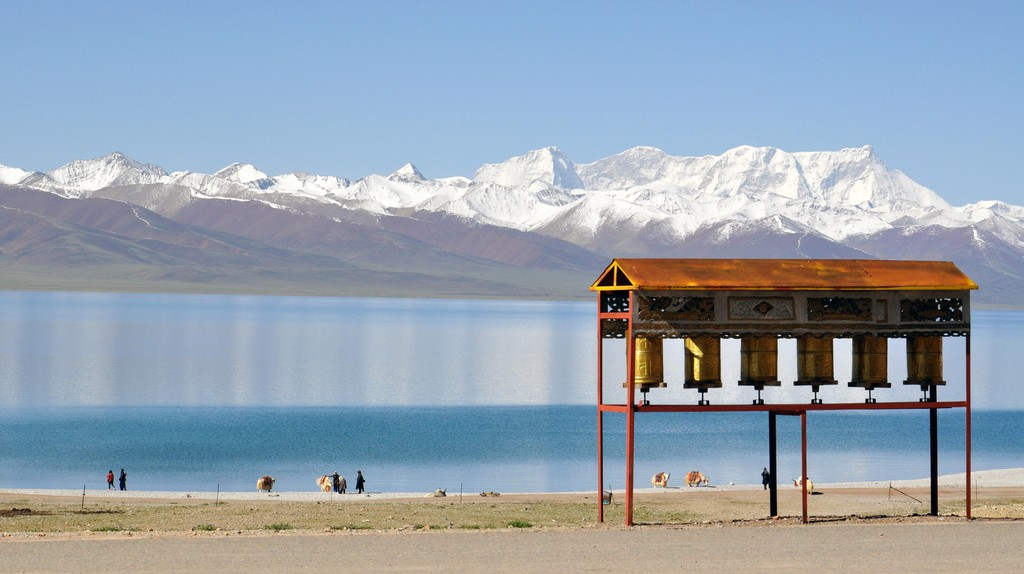 The Namtso lake